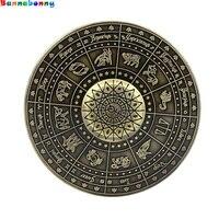 2017 New Fidget ToyEgyptian Zodiac Sign Mummy UFO Hand Spinner Finger Stress Spinner Tri Spinner
