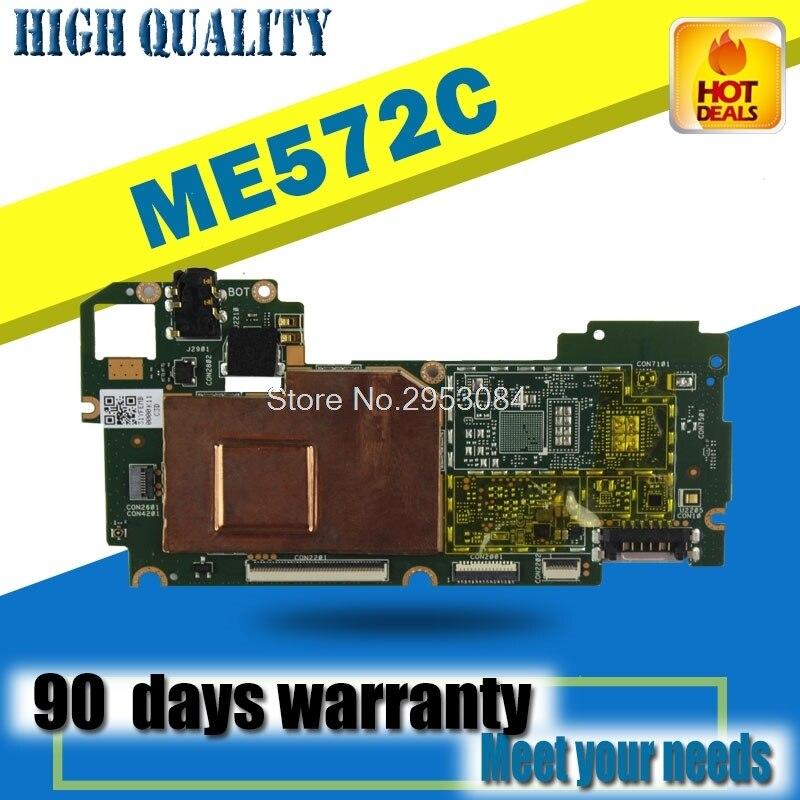 Carte pour Asus mémo Pad 7 ME572CL ME572C tablette PC carte mère originale fonctionne bien carte mère carte mère 100% test