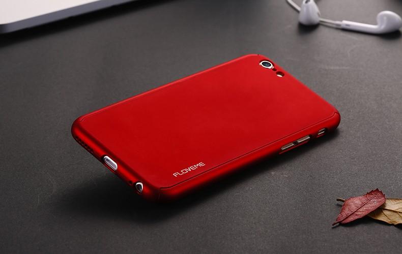 Floveme 6 s 7 plus armor screen protector 360 stopni case dla iphone 7 6 6 s dla iphone 6 6s 7 plus full chroń odporny na wstrząsy pokrywa 30