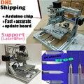 cnc engraving machine, work 160*100*30mm,Pcb Milling Machine,Wood Carving machine,diy mini cnc router,GRBL control, arduino chip