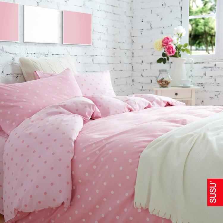 Polka dot bedding for girls online shopping-the world largest ...