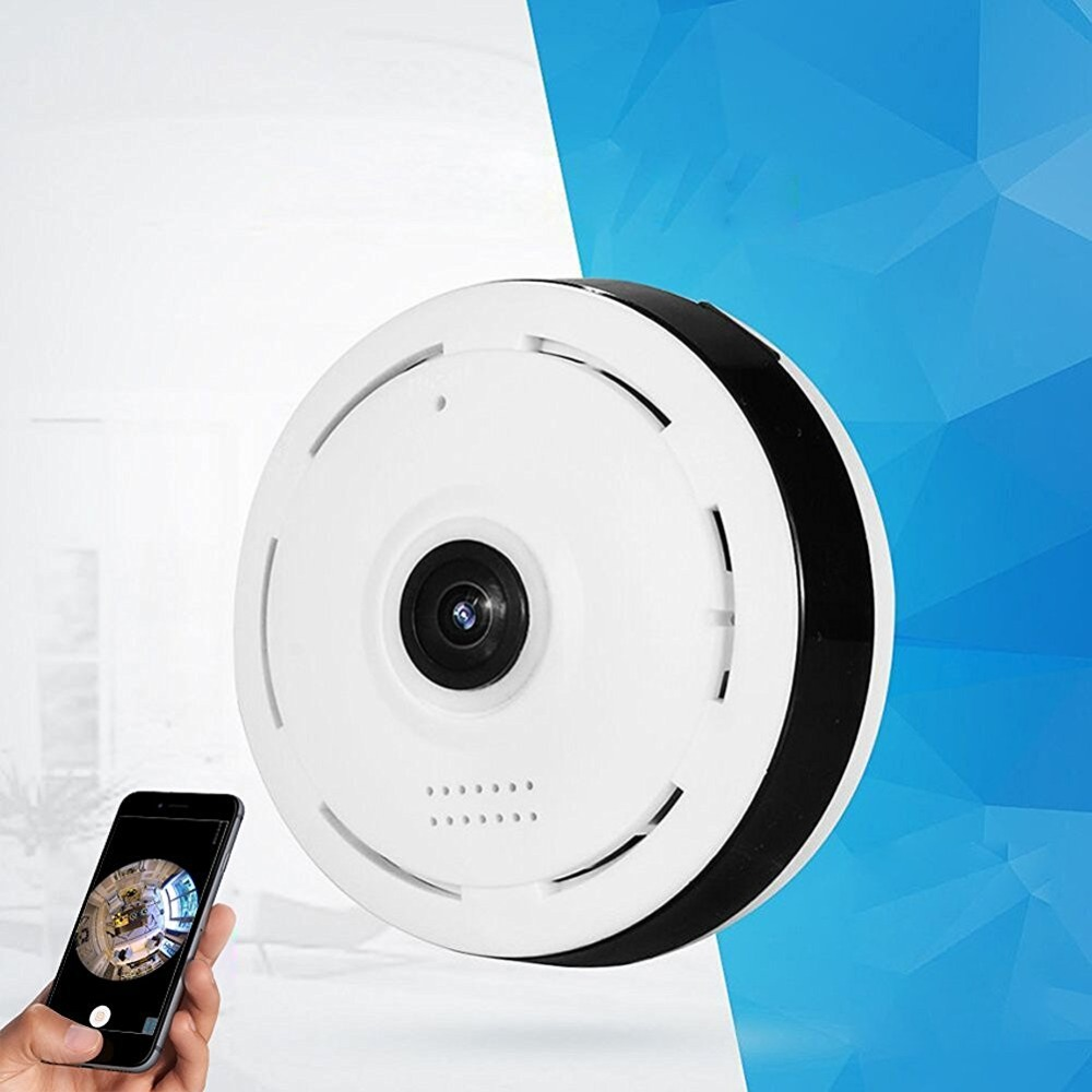 720P Wireless WiFi IP Security Camera 360 degree Mini ...