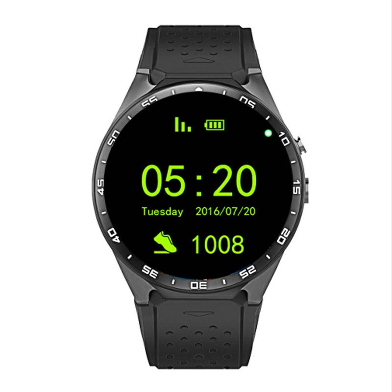 GREZOO KW88 Smart Watch Android 5.1 IOS 1.39 IPS OLED Screen 512MB+4GB ROM Smartwatch Support SIM Card GPS WiFi Call Reminder children s smart watch with gps camera pedometer sos emergency wristwatch sim card smartwatch for ios android support english e