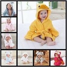 New 2018 Baby Boy Girl Cartoon Animal Shape Robe Bathrobe Winter Warm Childrens Cloak