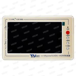 Image 4 - 2019 TV160 7th nesil Vbyone LVDS HDMI test cihazı hediye Chip tamir araçları LVDS sinyal dahil VASA, JEIDA Format