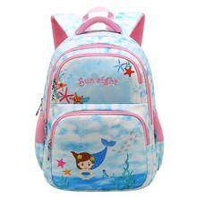 Sweet Printing Girl's School Bags Cartoon Pattern Kids Orthopedic Backpack Children Girl Book Bag Rucksack