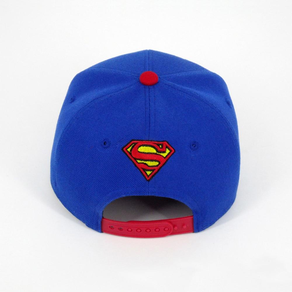 Superman Cap NEW Baseball Hat Superhero Super Man Hot Summer Baseball Hat