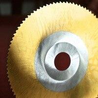 Gratis verzending van 1 PC DM05/M2 hss zaagblad voor Staal metalen buizen snijden professionele TIN coating 300 * 32*1.2mm BW tanden profiel-in Zaagbladen van Gereedschap op