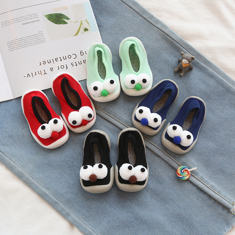 Toddler Shoes Infant And Cartoon Outdoor Floor-Socks Stereo Home