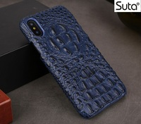 For Iphone8 Leather Case Crocodile Genuine Leather Phone Cases For IPhone 8 Protective Back Cover Ultra
