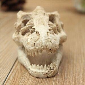 1 шт., аквариумные смолы с драконом/декорация для террариума, крокодила, черепа для аквариума, украшения из смолы, украшения для вашего аквариума