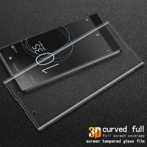 Image 5 - for Sony Xperia XA1 3D Curved Full Cover Tempered Glass for Sony XA1 G3112 G3116 Dual Sim Screen Protector Protective Film