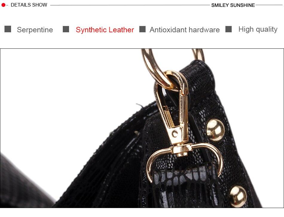 borla feminino sacos de ombro preto grandes