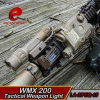 EX418 lanterna Airsoft LED licht Taktische PEQ 15 WMX200 Taschenlampe softair waffe arma wapens waffen IR wapens gewehr taschenlampe