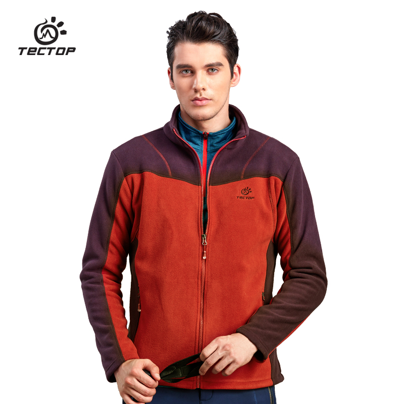 TECTOP High Quality Mens Outdoors Sports Camping Thicke Polar Fleece Jacket Women