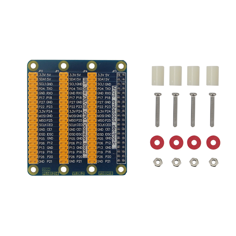 High Quality Raspberry Pi GPIO Adapter Plate 1 to 3 GPIO 40 Pin Extension Board for Raspberry Pi 3/2 for Orange Pi PC стоимость