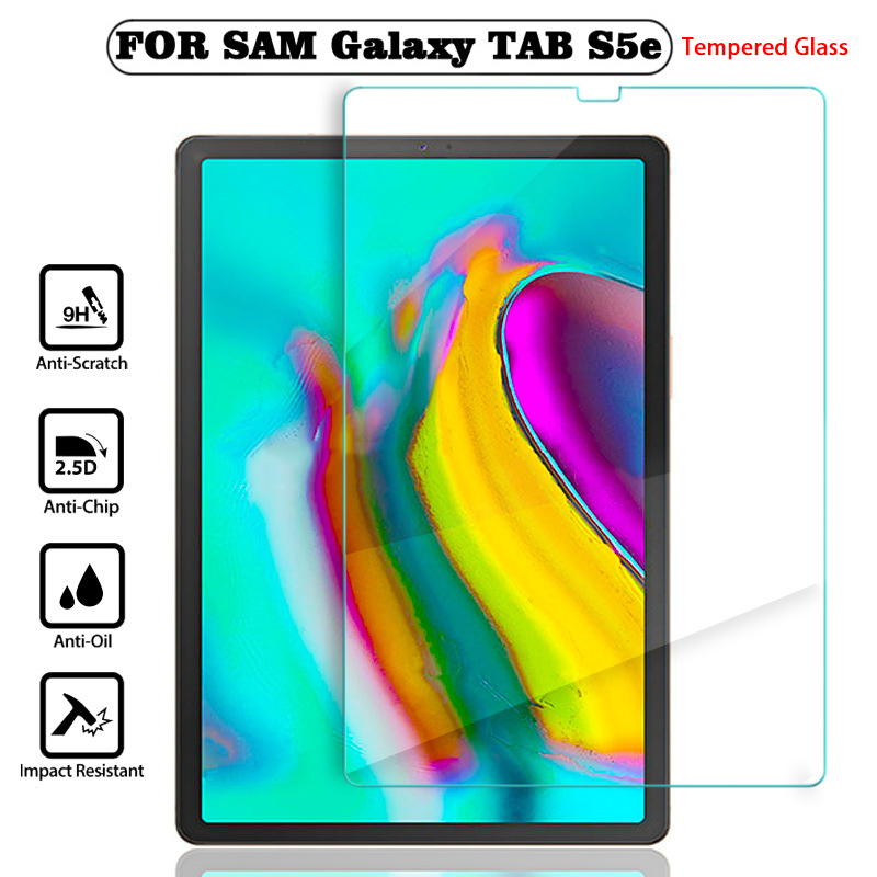 9H Safety Tempered Glass For Samsung Galaxy Tab S5e Screen Protector For Samsung Tab S 5e S5 E T720 T725 10.5'' Protective Glass