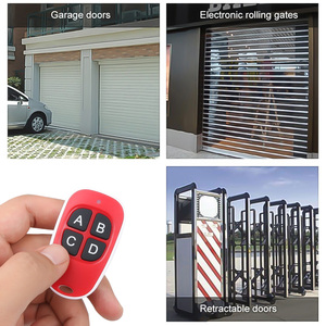 Image 2 - Kebidu 4 bouton porte ouvre porte de Garage télécommande 433MHZ Code roulant haute sensibilité large gamme efficacité