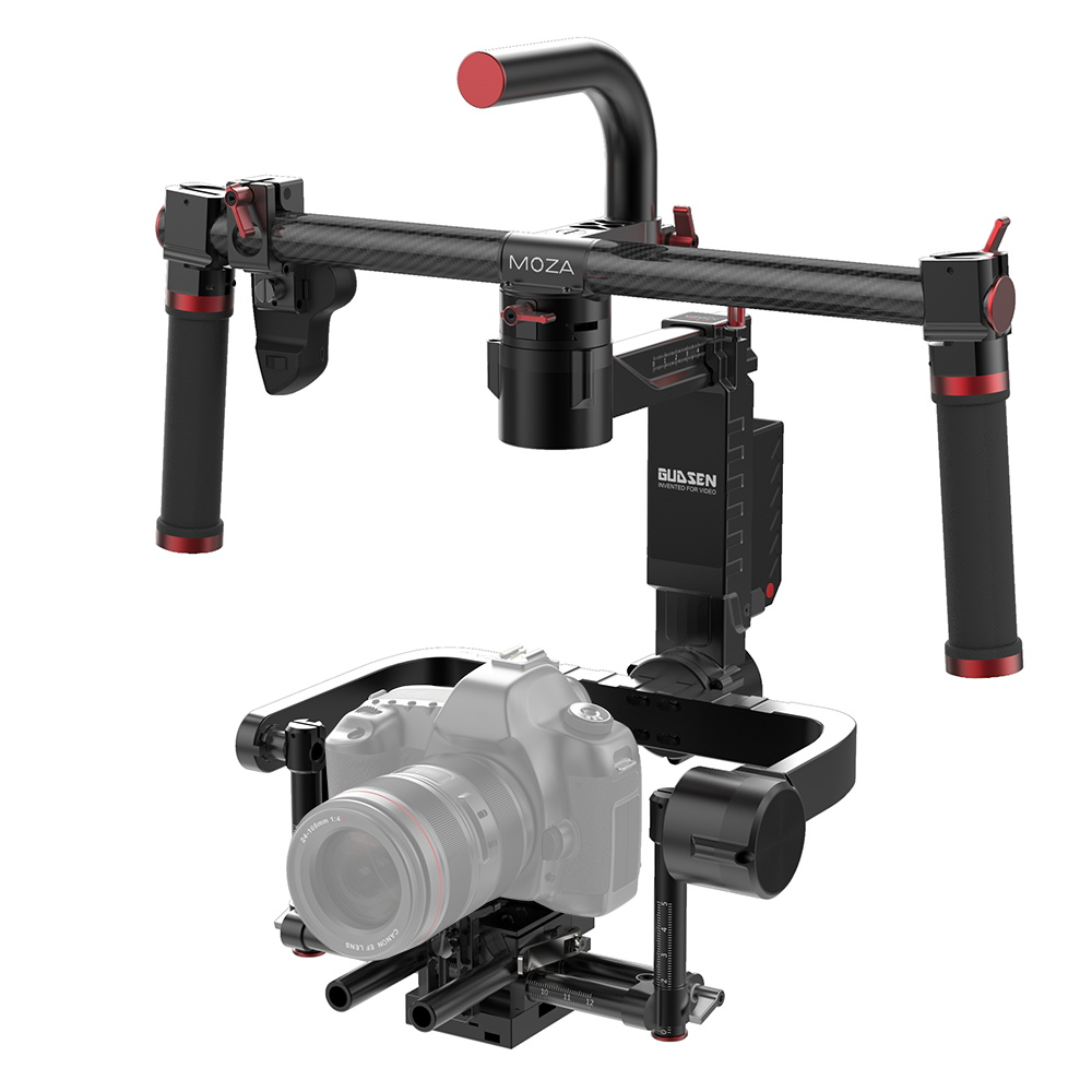 Moza Lite 2 Handheld Gimbal 3-axis Video Gimbal Stabilizer Payload 5 kg 2.4G Wireless Remote for Mirrorless Cameras and DSLRs yuneec q500 typhoon quadcopter handheld cgo steadygrip gimbal black