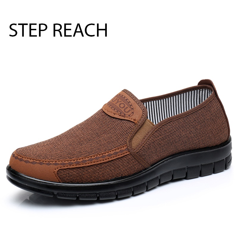 STEPREACH Brand shoes men casual canvas man footwear classics Slip On shoes men flats breathable comfort tenis masculino adulto pop men outdoor loafers shoes man s slip on flats chaussure brand man soft flat casual shoes footwear zapatillas hombre xk080514