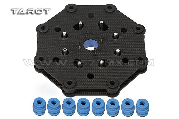 TAROT 3 axis gimbal shock absorbers assembly TL100A17-in Parts & Accessories from Toys & Hobbies    1
