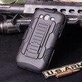 New  Heavy Duty Rugged Armor Hybrid Holster  Case for Samsung Galaxy Grand Duos i9082 I9080 Galaxy Grand Neo I9060 I9062 I9063