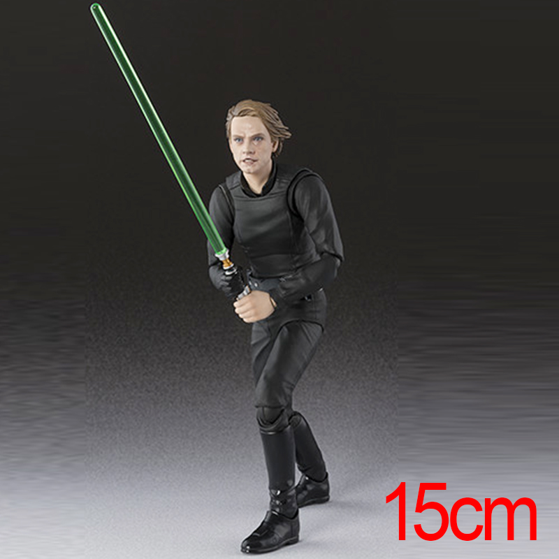 Star Wars Episode VI Return of the Jedi  Variant Luke Skywalker PVC Action Figures Change face Collectable Model Toy Doll Gift neca gears of war 2 action figures boys hobby toys games collectable 7dominicsantiago figures are