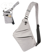 Men Crossbody Sling Bag Waterproof Shoulder Chest Back Pack Anti Theft Sash  Bags Pouch Outdoor Sports f6eed22ac32d