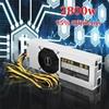 2800W S7 S9 L3 Mining Miner Power Supply 12V 220A 6pin 24 For BTC Bitcoin Miner