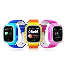 2016 GPS Q90 Smart Watch Сенсорный Экран WI-FI Расположение Детей Baby SOS Вызова Finder Трек Kid Safe Anti-Потерянный Устройства Монитор ПК Q50