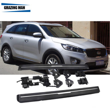 aluminium Automatic scaling Electric pedal side step running board for 2015+ sorento