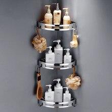 304 нержавеющая сталь, полки для ванной комнаты, серебряные аксессуары для ванной комнаты, угловая полка для душа, полка для хранения шампуня, держатель для ванной корзины