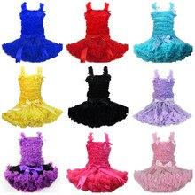 New Arrival Hot Sales Baby Girl Vest Skirt  Baby Pettiskirt  Tutu Skirt  Girl Top Kids Children Christmas Party Dress Set цены онлайн