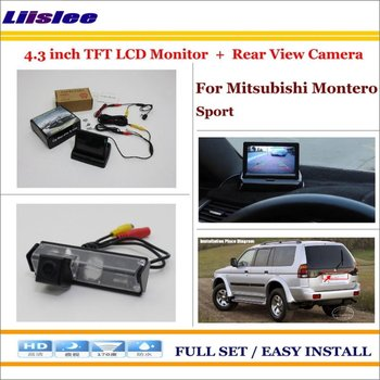 """Car Back Up Rear Camera For Mitsubishi Montero Sport Car 4.3"""" LCD Screen Monitor Parking Assistance System"""