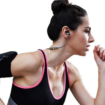Bateria dupla Bx343M fones de ouvido de Áudio Estéreo Sem Fio Bluetooth Headset Dobrável IPX5 Oreillette Com Microfone do Fone de ouvido à prova d' água