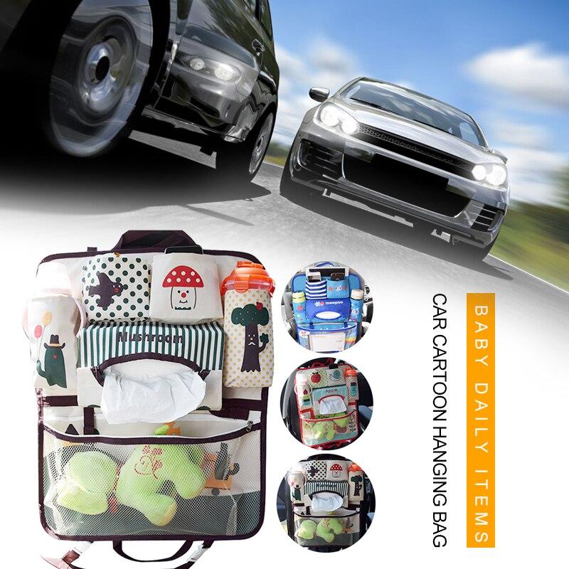 Car Seat Back Storage Organizador Bags Hanging Car Seat Bag Universal Useful Car Storage Bag Stroller accessories