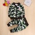 1.5 2 3 años niñas/niños cálida lana de invierno chaqueta de los niños del otoño ropa set 2 unids chaqueta de lana + pantalones