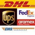 Extra de DHL, UPS. TNT, Aramex, EMS, DPD ...... a taxa do Transporte, por favor entre em contato conosco antes de encomendar