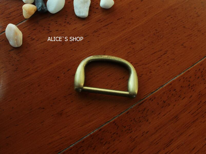 1 inch Bag parts, Bag hardware accessories Handbag solid D Ring Buckle belt parts Metal Dog ring Package accessories