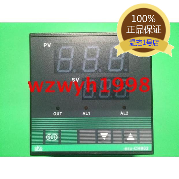 SKG CH902 high precision temperature controller CH902FK01-M temperature controller SKG TREX-CH902SKG CH902 high precision temperature controller CH902FK01-M temperature controller SKG TREX-CH902