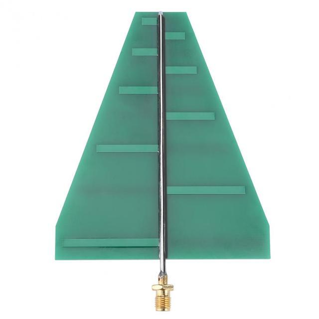 Ultra Wideband Antenna UWB Antenna 15 Wát 1.35-9.5 GHz Log Kỳ Antenna 5-6dB Cho Điện Thoại Di Động Tín Hiệu Repeater Booster amplifier