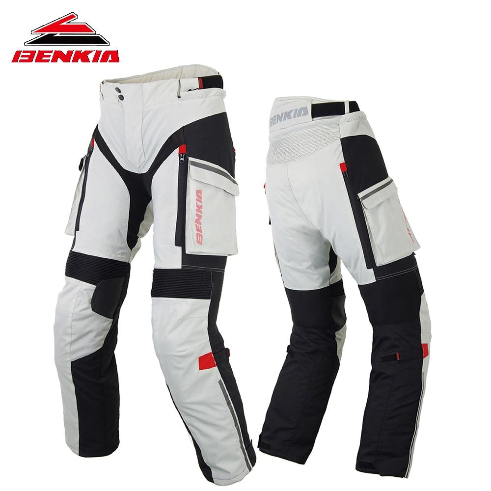 BENKIA зимние мотоциклетные штаны гоночное ралли брюки со съемным теплым вкладышем бездорожья брюки для мотокросса мото брюки PW47