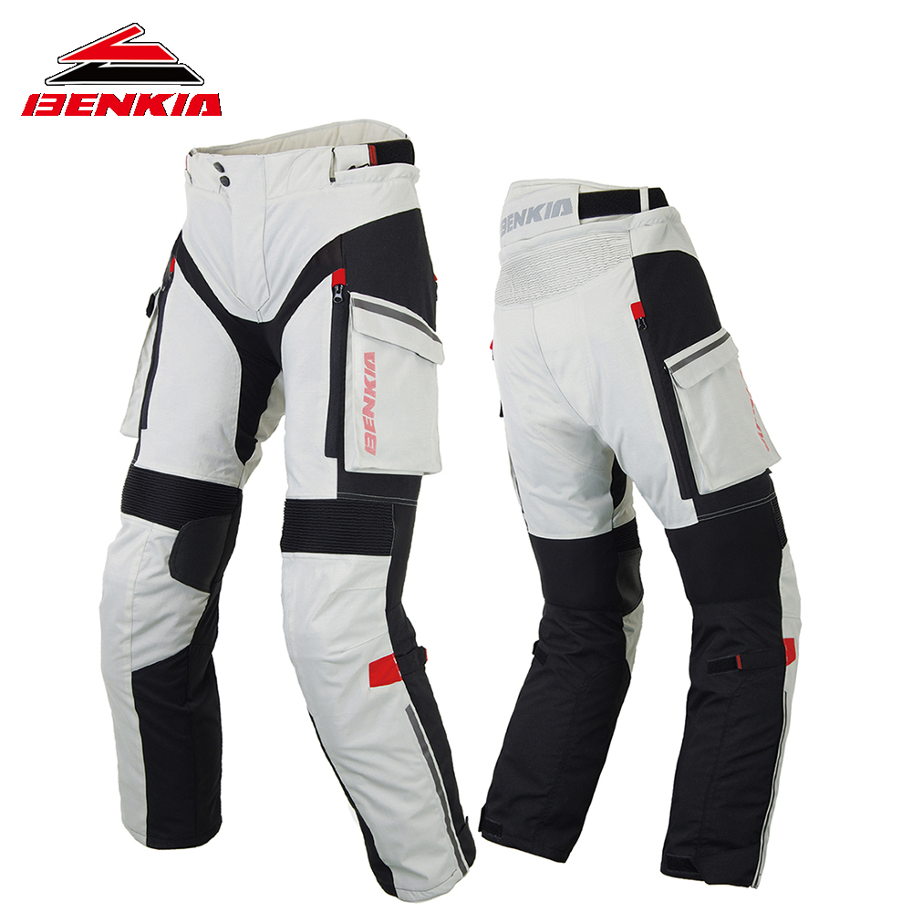 BENKIA Hiver pantalon de Moto Racing Rallye Pantalon Avec Amovible Doublure Chaude Off Road Motocross Pantalon Moto Pantalon PW47