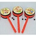 Chocalho do bebê Tambor, Estilo chinês Sorte Chocalhos Brinquedos Educativos Para Crianças Crianças Brinquedos Drum-Shaped W421