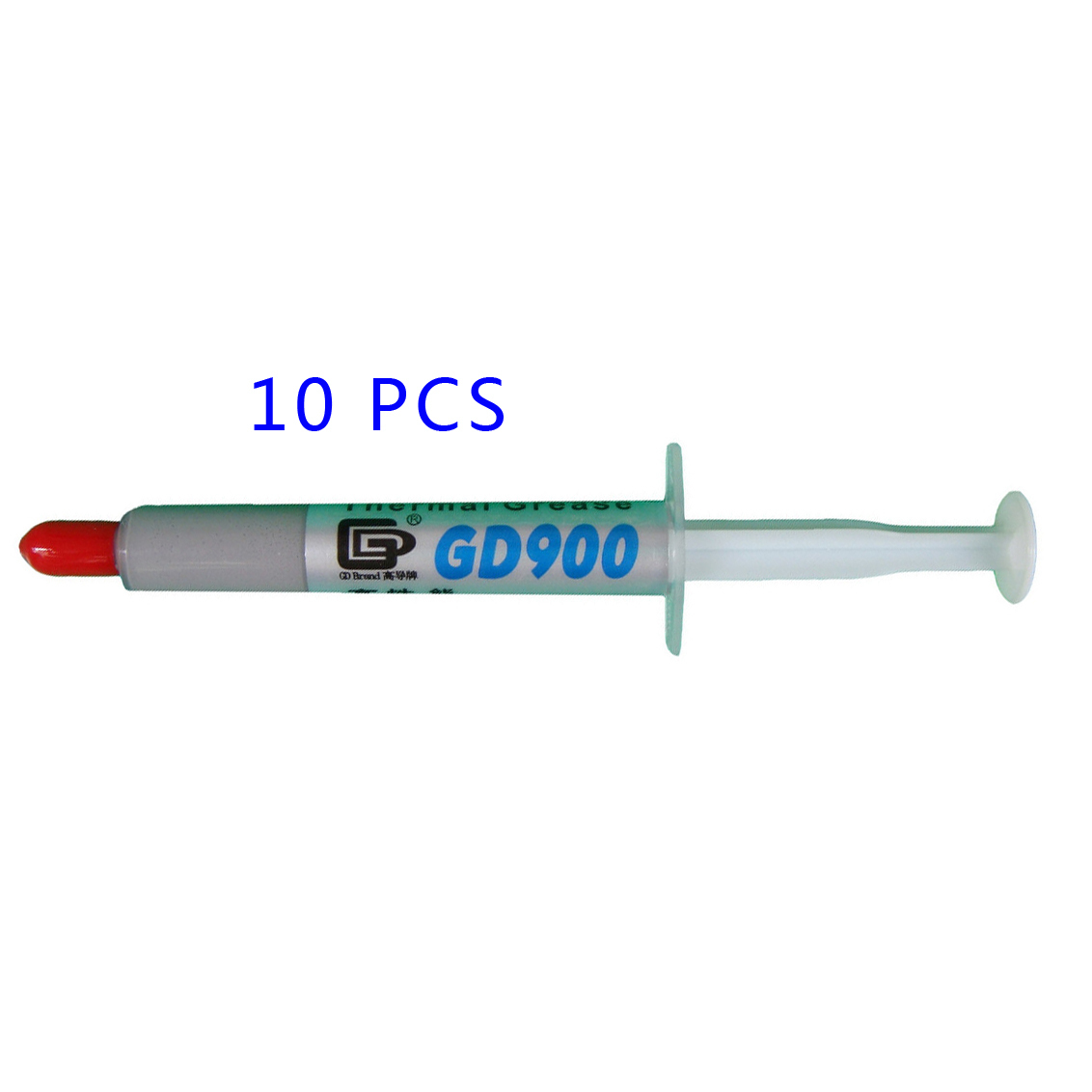 10PCS GD900 Gray Net Weight 3 Gram Thermal Grease Silicone High Performance Heat Sink For CPU GPU Cooler SY3 Thermal Compound