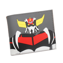 Lovely Cartoon Anime Mazinger Z Wallets Hot New Designer Dollar Bags Animation P