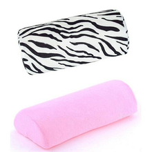 Ny ankomst! Profesjonell Half Hand Pute Rest Pillow Long Nail Art Design Manicure Soft Column