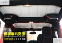 Interior For Jeep Wrangler 2015 Roof Tweeter Speaker Cover Trim 2 pcs / set