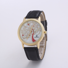 Luxury brand watch womens watches fashion Quartz Stainless Steel Dial Leather Band Wrist Watch Sport casual Relogio Feminino
