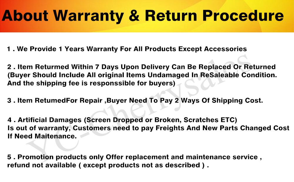 warrantry and return for laptop_